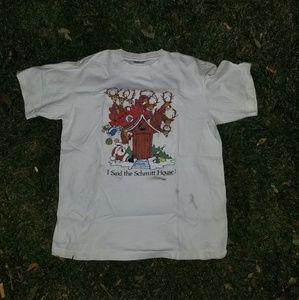 1986 Christmas tee sz L